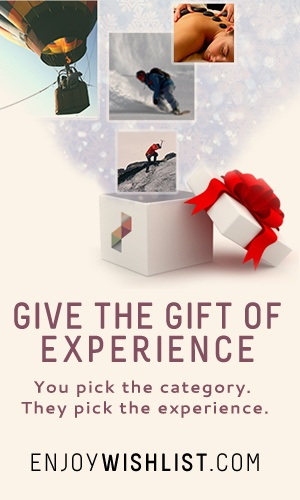 Experience Gifts at enjoywishlist.com